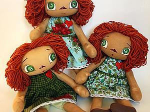 Куклы ушли домой )   Ярмарка Мастеров - ручная работа, handmade