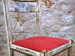 Составривание стула. Элементы декора и декупажа. Ярмарка Мастеров - ручная работа, handmade.