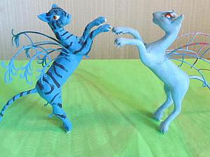 Лепим необычных кошечек-фей с крыльями | Ярмарка Мастеров - ручная работа, handmade