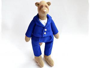 Шьем пиджак для игрушки. Ярмарка Мастеров - ручная работа, handmade.