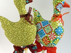 Шьем уточку в стиле Тильда | Ярмарка Мастеров - ручная работа, handmade