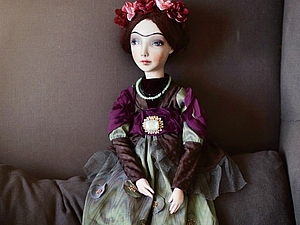 Делаем будуарную куклу! КУРС из 3-х занятий | Ярмарка Мастеров - ручная работа, handmade