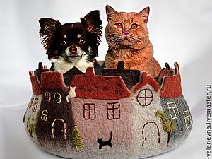 Кошкин дом или 25 оттенков серого. | Ярмарка Мастеров - ручная работа, handmade