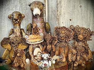 МОи зверушки уехали на выставку в Токио! Удачи им в их дальнем пути! | Ярмарка Мастеров - ручная работа, handmade