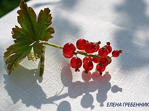 Красная смородина из эпоксидной смолы. | Ярмарка Мастеров - ручная работа, handmade