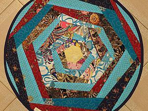 Шьем коврик в деревенском стиле. Ярмарка Мастеров - ручная работа, handmade.