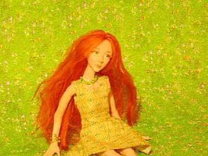 Кукла из ничего (силиконовый герметик)   Ярмарка Мастеров - ручная работа, handmade