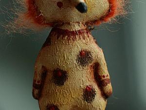 Брошка Дядюшка Рыж | Ярмарка Мастеров - ручная работа, handmade