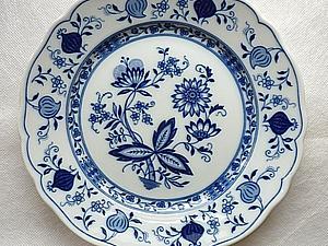 Фарфоровая тарелка - есть спецы по винтажному? | Ярмарка Мастеров - ручная работа, handmade