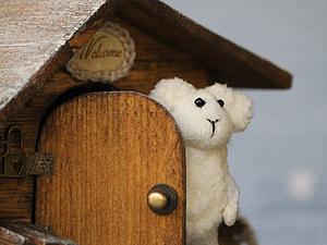 Новый Домик. Там живёт Овечка... | Ярмарка Мастеров - ручная работа, handmade