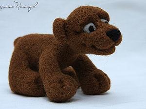 Медвежонок - МК | Ярмарка Мастеров - ручная работа, handmade