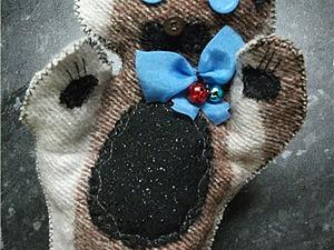 Мастерим куклу на руку «Кот Баюн». Ярмарка Мастеров - ручная работа, handmade.