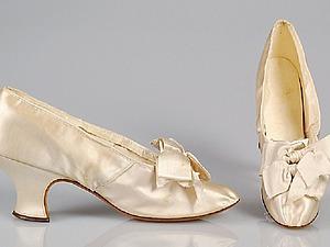 Музейная коллекция вечерних туфель 19-20 веков. Часть 1. Ярмарка Мастеров - ручная работа, handmade.