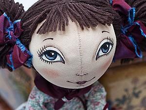 Текстильная кукла | Ярмарка Мастеров - ручная работа, handmade