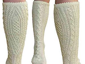 Из истории вязания: традиционные баварские носки | Ярмарка Мастеров - ручная работа, handmade