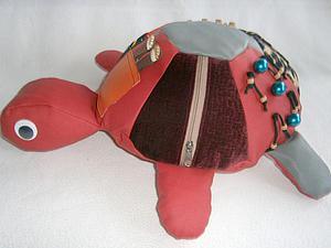Шьем развивающую игрушку «Веселая Черепашка». Ярмарка Мастеров - ручная работа, handmade.