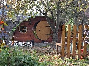 Домик хоббита в нашем саду | Ярмарка Мастеров - ручная работа, handmade