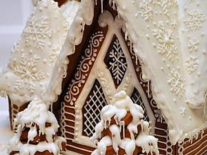 Мастер-класс по росписи имбирных пряников - полный курс (Новогодний пряничный домик)   Ярмарка Мастеров - ручная работа, handmade