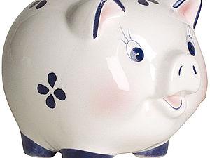 Почему копилки для денег принято делать в форме свиньи?   Ярмарка Мастеров - ручная работа, handmade