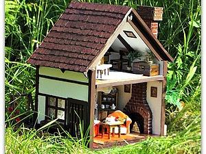 Домик для мини Мишки. | Ярмарка Мастеров - ручная работа, handmade