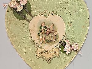 Валентинки Викторианской эпохи. Ярмарка Мастеров - ручная работа, handmade.