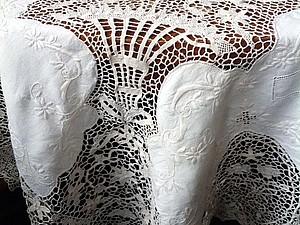 Скатерть Point De Venise Lace | Ярмарка Мастеров - ручная работа, handmade
