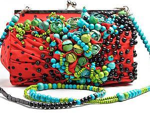 Цветочные сумочки и украшения от Claudia Chindea | Ярмарка Мастеров - ручная работа, handmade