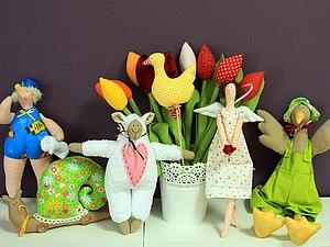 Игрушка Тильда своими руками. Шьем девочку-ангела, барашка, гуся . | Ярмарка Мастеров - ручная работа, handmade