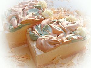 Зреет взбитое мыло Весеннее. | Ярмарка Мастеров - ручная работа, handmade