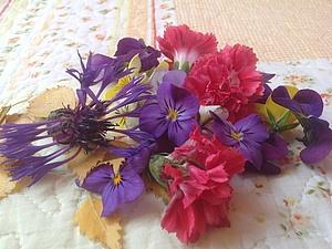 Подготовка цветов для украшений | Ярмарка Мастеров - ручная работа, handmade