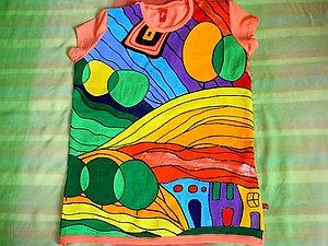 Роспись одежды | Ярмарка Мастеров - ручная работа, handmade