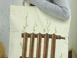 Мастер-класс Роспись эко-сумки.   Ярмарка Мастеров - ручная работа, handmade