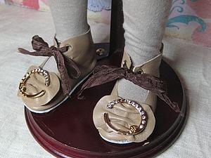 Мастер-класс по созданию выкройки обуви для куклы.. Ярмарка Мастеров - ручная работа, handmade.