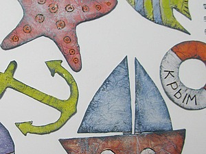 Декор детской в морском стиле. | Ярмарка Мастеров - ручная работа, handmade