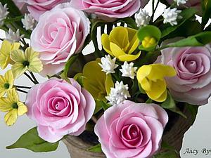 Материалы для лепки цветов | Ярмарка Мастеров - ручная работа, handmade