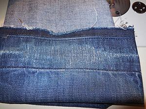 Ремонт изношенной подгибки у джинсов. Ярмарка Мастеров - ручная работа, handmade.