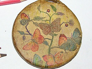 Кулон «Винтажные бабочки». Ярмарка Мастеров - ручная работа, handmade.