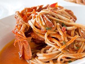 Рецепты итальянской кухни из Италии- Паста с крабом | Ярмарка Мастеров - ручная работа, handmade