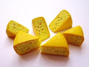 Сыр из полимерной глины. Соляной способ. | Ярмарка Мастеров - ручная работа, handmade