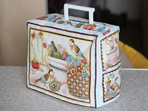 Чехол для швейной машинки с подкладкой | Ярмарка Мастеров - ручная работа, handmade