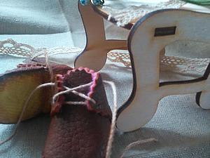 Создание миниатюрных ботиночек для куклы или мишки | Ярмарка Мастеров - ручная работа, handmade