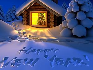 Новогодняя..поздравительная. :)   Ярмарка Мастеров - ручная работа, handmade