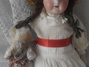 Антикварная куколка Мейбл | Ярмарка Мастеров - ручная работа, handmade