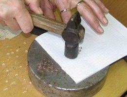 Украшения из проволоки в технике холодной ковки | Ярмарка Мастеров - ручная работа, handmade