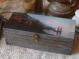 Мужской подарок - Морской сундучок старого пирата | Ярмарка Мастеров - ручная работа, handmade