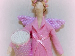 Тильда Банный Ангел | Ярмарка Мастеров - ручная работа, handmade