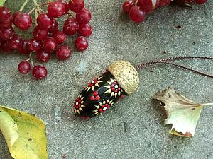 Без желудей не обойтись! Идеи осеннего декора. | Ярмарка Мастеров - ручная работа, handmade