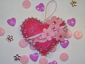 Мои любимые сердечки | Ярмарка Мастеров - ручная работа, handmade