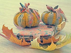 Мастер-класс: тыквочка для декора | Ярмарка Мастеров - ручная работа, handmade