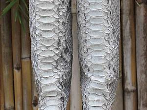Скидка 25 % на сапоги и ботинки из кожи питона | Ярмарка Мастеров - ручная работа, handmade